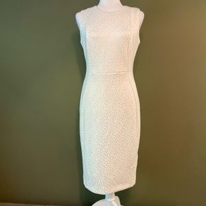 Calvin Klein NWOT fitted, 8% spandex dress 8